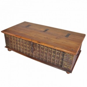 Indian Brasswork Antique Blanket Box