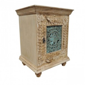 Jali Carved Solid wood Bedsides