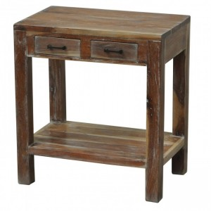 Kompact Wooden Bedside Natural
