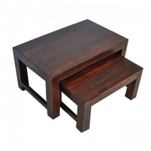 Kompact wooden Coffee tables set x 2