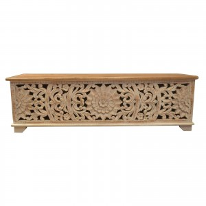 JALI Carved Chest Box Coffee Table