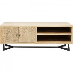 Lava Exotic Mango Wood Industrial Entertainment unit TV Stand