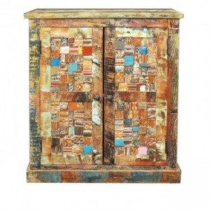 Liberty Reclaimed Timber Small Cabinet