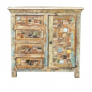 Liberty Reclaimed Wood Small Cabinet sideboard