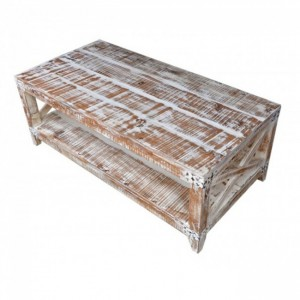 Metal Factory Solid wood Coffee Table