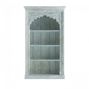 Mughal Hand Carved Wooden Bookcase