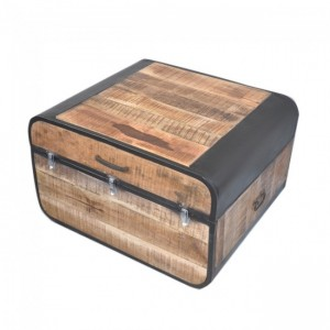 Miller Industrial timber Coffee Table Chest