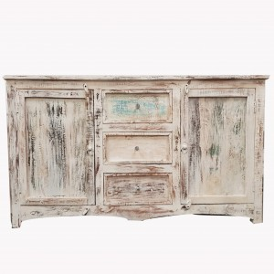 Rustica Reclaimed Wood Recycled Boat Timber Sideboard Medium 160x45x90cm