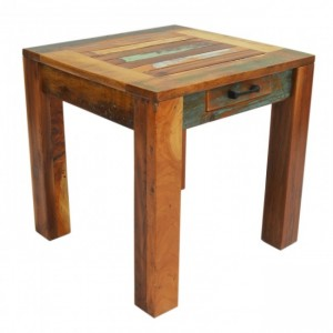 Nirvana Reclaimed Timber Boat wood Lamp side table