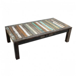 Nirvana Reclaimed timber coffee table 135x70cm