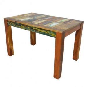 Nirvana Reclaimed boat wood Dining Table 120x75cm S