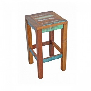 Nirvana Reclaimed Timber Boat wood Patio Bar Stool