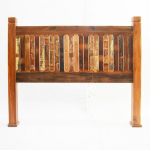 Nirvana Reclaimed boat Timber SINGLE Bedhead headboard