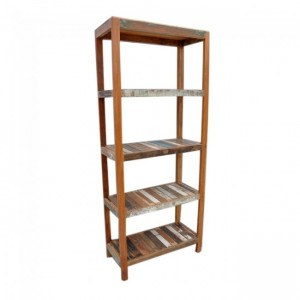 Nirvana Reclaimed Timber Bookshelf book stand Large