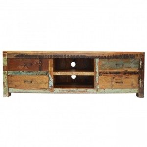 Nirvana Reclaimed timber TV Entertainment Unit 150cm