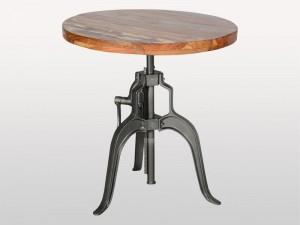 Industrial Batts Adjustable Bistro Table