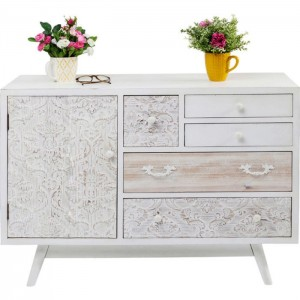 Vivid French Contemporary chest of drawers dresser sideboard