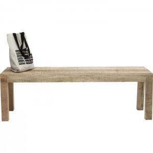 Vivid Sahara Contemporary Mango Wood Dining Bench Seat 140x40cm