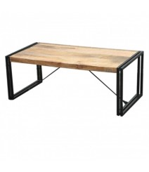 BARN Industrial Coffee Table 120Cm Natural