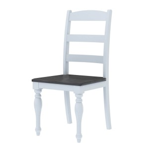 Morrilton Mahogany Wood Two Tone Dining Chair