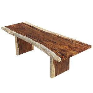 Ireton Solid Wood Live Edge Large Dining Table