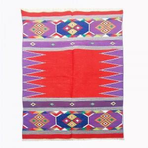 Kilim Wool Handwoven Cotton Dhurrie Durry Rug Jute Floor Covering Pattern 17