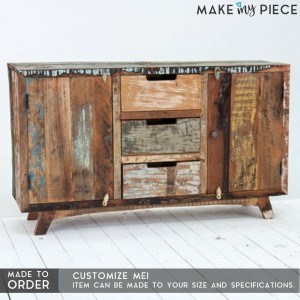 ASHLEY Reclaimed wood Sideboard Natural 1.6m