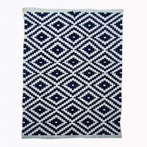 Kilim Wool Handwoven Cotton Dhurrie Durry Rug Jute Floor Covering Pattern 19