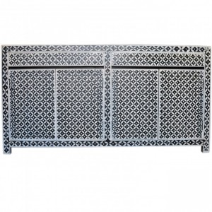 Pandora Bone inlay Black Diamond Sideboard B