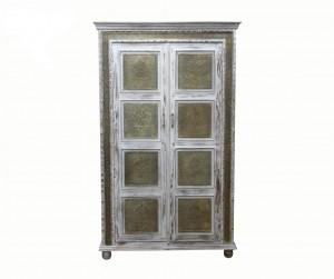 MADE TO ORDER Maharaja Wooden Wardrobe Cabinet 120x55x200 cm