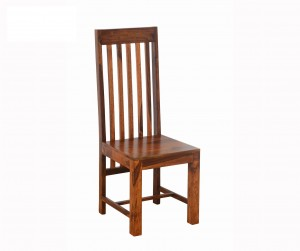 Boston Kompact Natural Finish Chair 45x45x110 CM