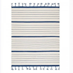 Kilim Wool Handwoven Cotton Dhurrie Durry Rug Jute Floor Covering Pattern 40