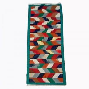 Kilim Handwoven Cotton Dhurrie Durry Rug Jute Floor Runner Hallway Pattern 4