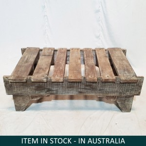 Indian Antique Old Wood Console table Coffee table 144x88x46cm