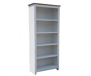 French Blanc Wooden Bookshelf