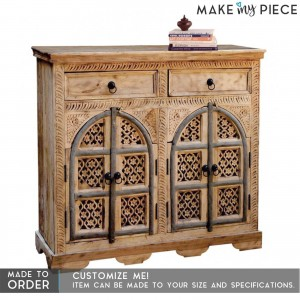 Jali Sideboard buffet Natural Brown