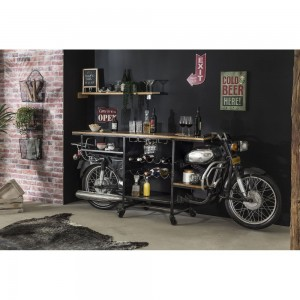 Transport Metal Industrial Jodhpur classic Motorcycle Bar