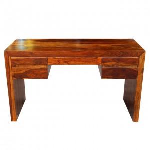 Boston Zen Contemporary Solid Wooden Study Desk L