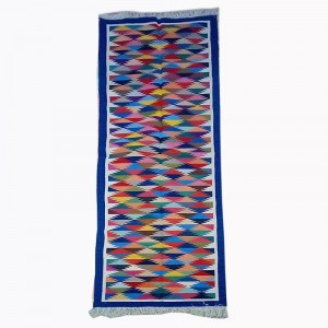 Kilim Handwoven Cotton Dhurrie Durry Rug Jute Floor Runner Hallway Pattern 6