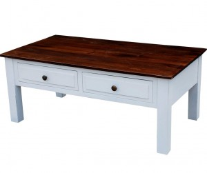 French Blanc Wooden  Coffee Table