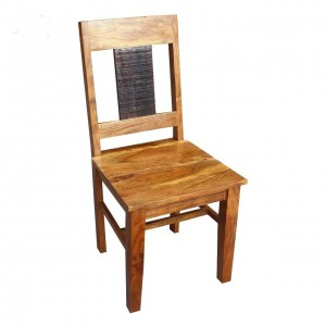 MADE TO ORDER Indian Lyon Wooden Seating Chair Natural 45x44x95 cm
