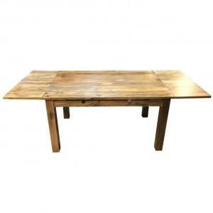 Boston Zen Contemporary COLONIAL EXTENDABLE TABLE 150X90X76 CM
