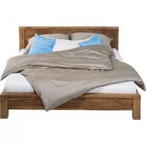 Boston Silver Contemporary Solid Wood New Design Bed 160x200 cm