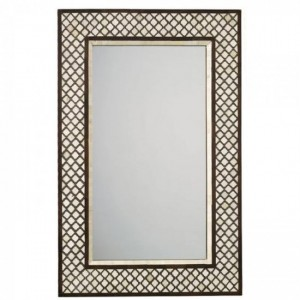 Maaya Bone Inlay Mirror Frame - Antique Handmade 60x5x90cm