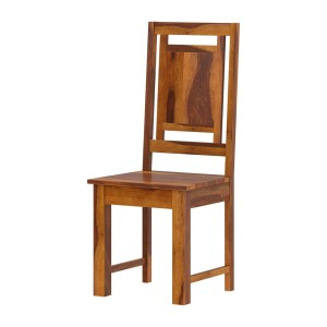 Brocton Rustic Solid Wood Handcrafted Dining Chair