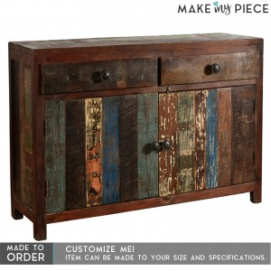Reclaimed Timber 2 Door 2 Drawers Sideboard
