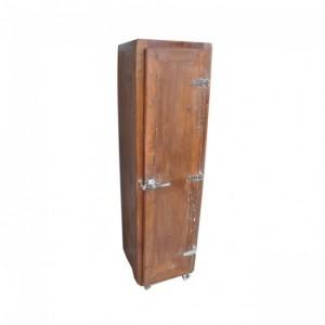 Cromer Tall Thin cabinet, solid wood Tall Thin cabinet, mango wood Tall Thin cabinet, Tall Thin cabinet, custom furniture, custom handicraft, indian handicrafts, Retro style Tall Thin cabinet, Fridge Door Furniture