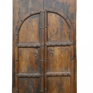 Hand Carved 18th century Indian Large Antique Door