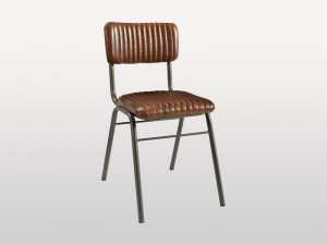 Industrial Hart Chair Leather Seat