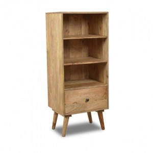 AVALON Solid Wood Bookshelf Natural